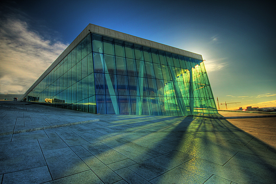 Oslo opera house