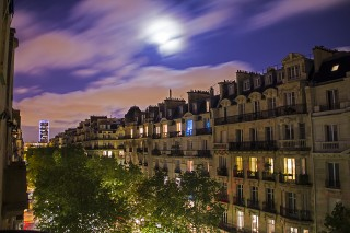paris night montparnasse tower