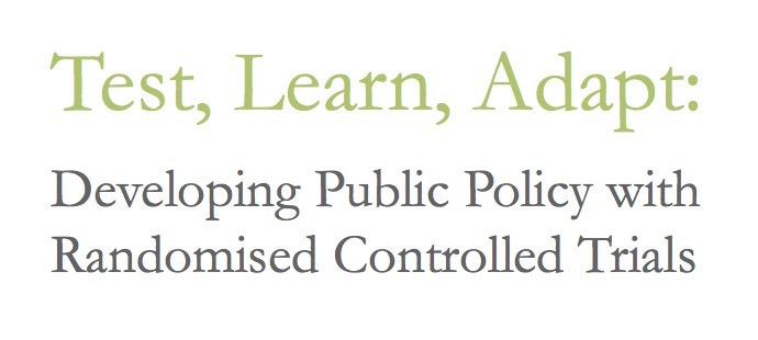 Header for Test, Lean Adapt: Developing Public Policy with Randomized Controlled Trials