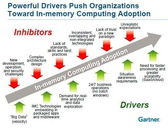 The Business Impact of In-Memory Computing, From Run to Transform