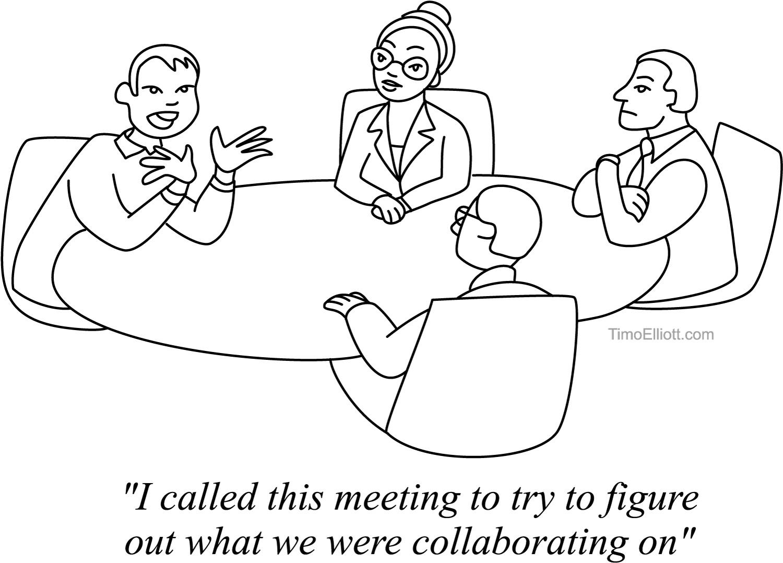 Social Cartoons Business Analytics Amp Digital Business