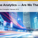 Awesome Analytics -- Are We There Yet?