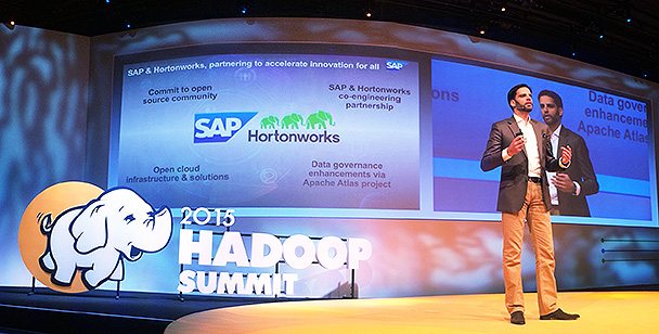 SAP CTO Irfan Khan at Hadoop Summit Brussels
